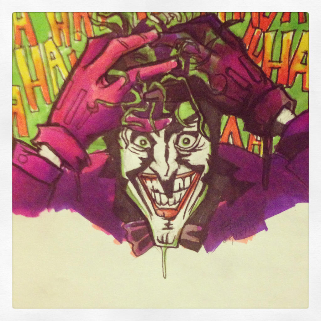 Joker Marker Practice by finkgraphics