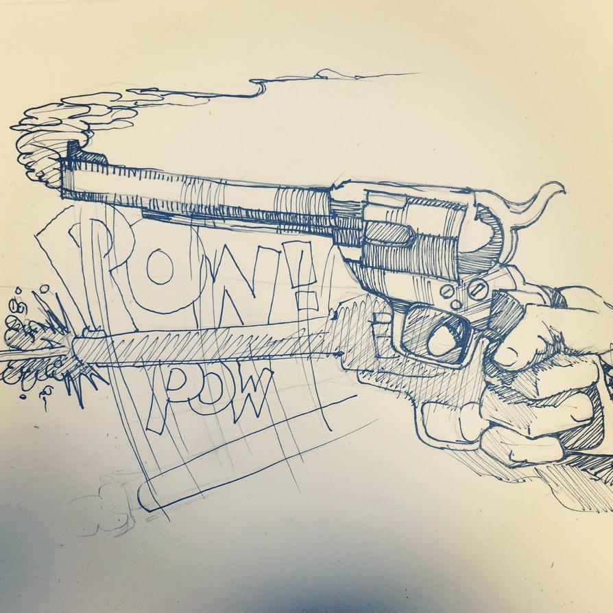 The Gunslingers KA by finkgraphics