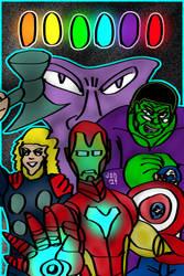 Avengers Endgame Fanart by jddishmonart