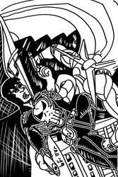 Nexgen Vs Punisher by jddishmonart