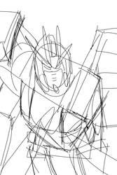 Gundam Rough Sketch