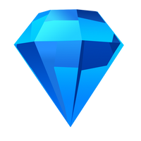 Bejeweled Blue Gem