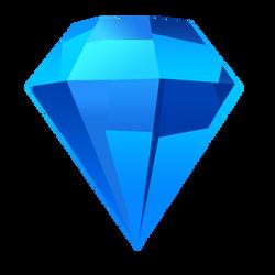 Bejeweled Blue Gem