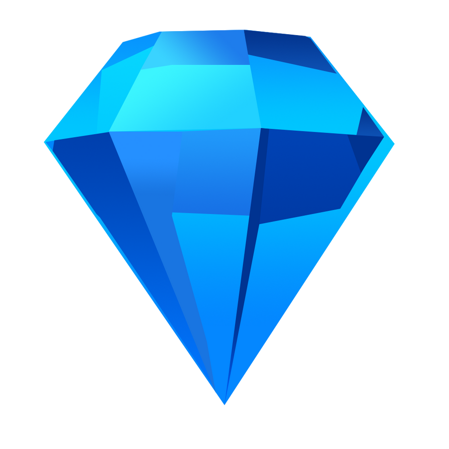 Bejeweled Blue Gem by LDinos