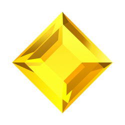 Bejeweled Yellow Gem
