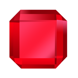 Bejeweled Red Gem