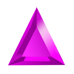 Bejeweled Purple Gem