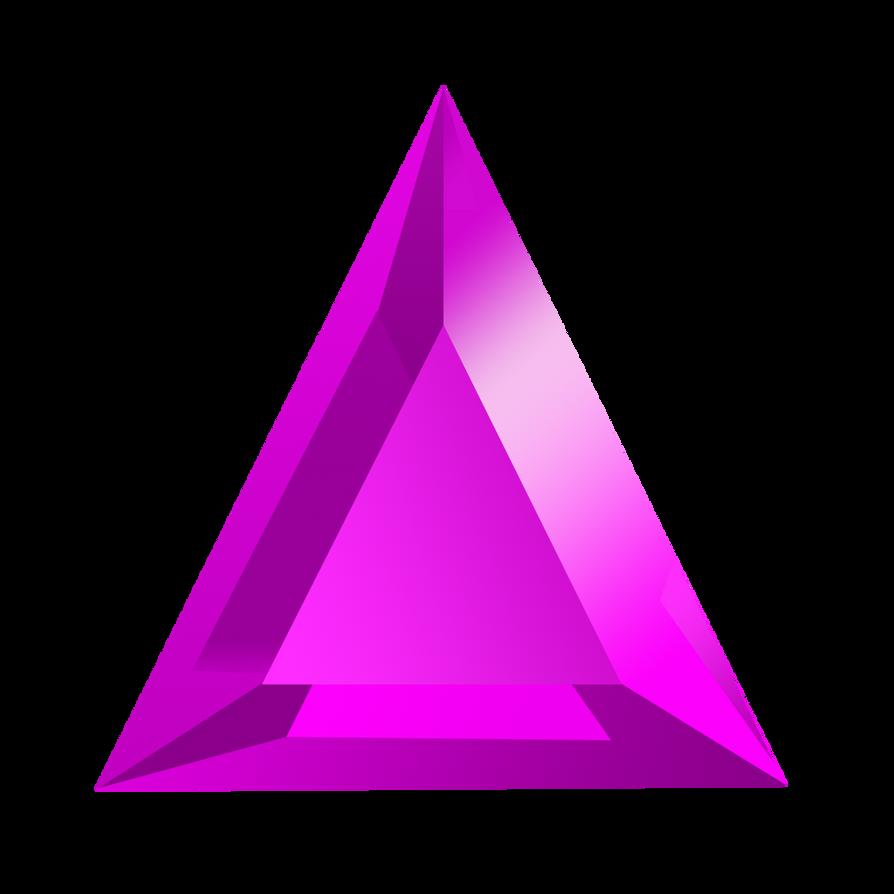 Bejeweled Purple Gem by LDinos