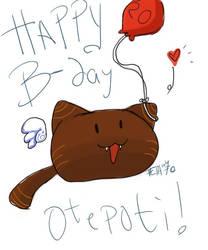 Happy Birthday Otepoti by Konai