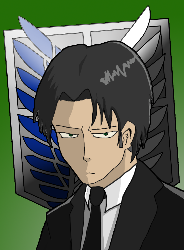 Levi in a Suit