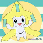 Jirachi - Day 3 (Poke-Myth Cuties)