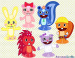 Happy Tree Friends - My Favorite Characters!