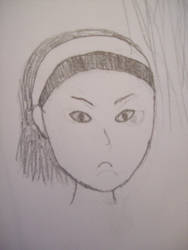 Alyx Vance #3 (sketch): Pouty young Alyx