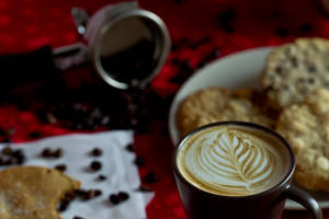 Coffee and a Cookie, or four. by PhotoFortyTwo