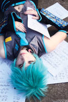 Vocaloid - Mikuo by kirawinter