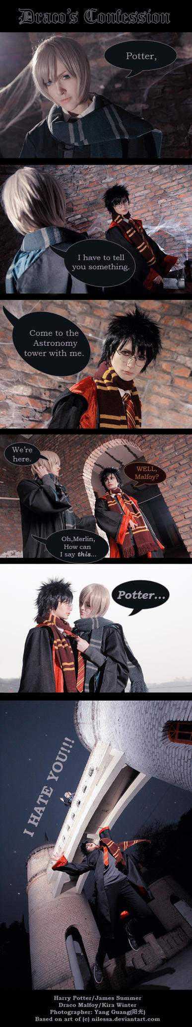 Draco's Confession - Harry Potter by kirawinter