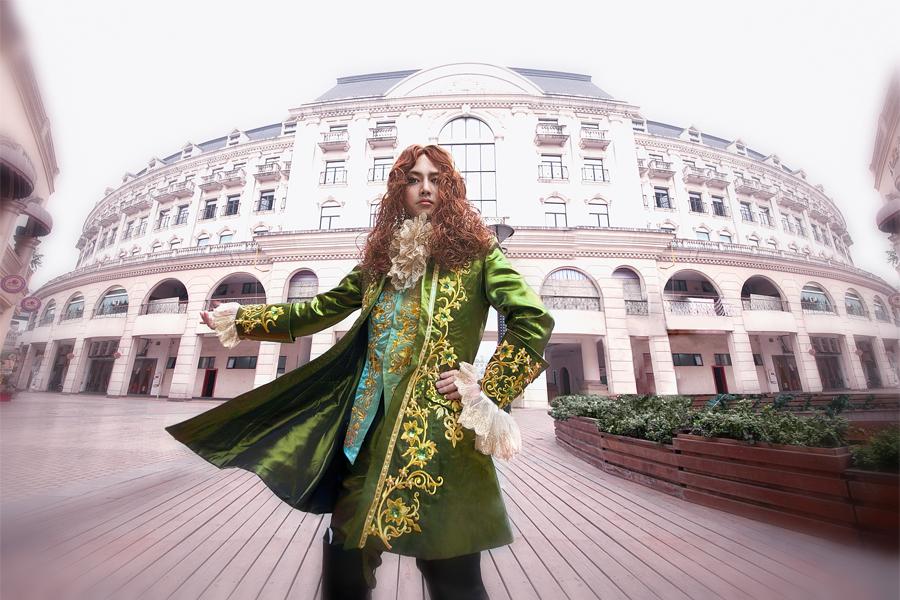 The Rose of Versailles - Gerard by kirawinter