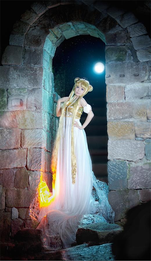 Sailor Moon - Princess serenity by kirawinter