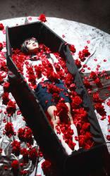 Captive White Lily Kanon by kirawinter