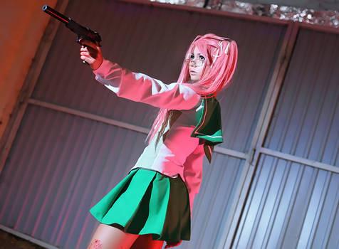 Saya Takagi - Highschool of the dead