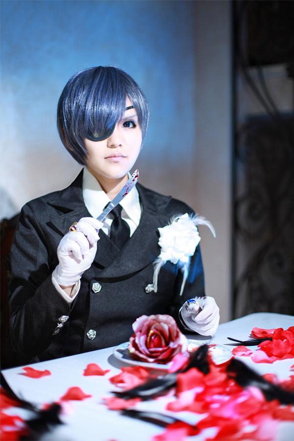 Ciel Phantomhive Kuroshitsuji 2 by kirawinter