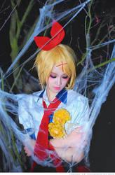 Kagamine Rin Vocaloid by kirawinter