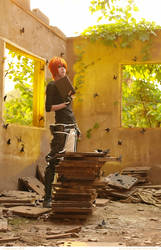 D.Gray-man - Lavi Bookman by kirawinter