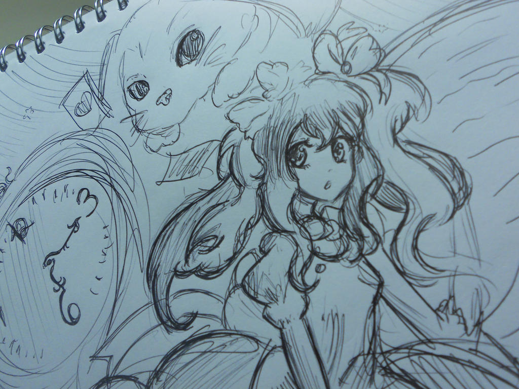 Alice in Wonderland 2012 drawing by Vocalandroid01 on ...