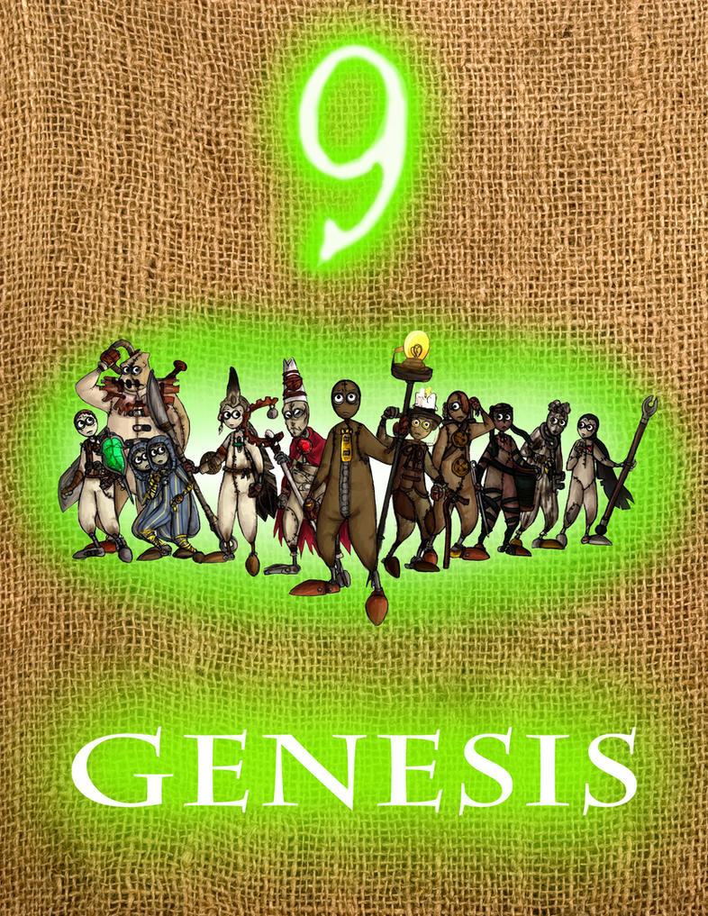 Genesis D Exhibition Design : Quot genesis cover design by krrouse on deviantart