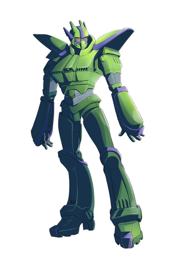 PAcon 2015: Planet Armada Conspiracy - Robot by Morcian