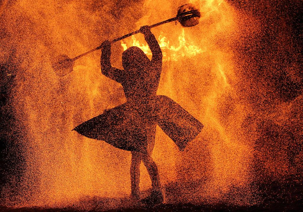 in the firestorm by DieCooleSocke