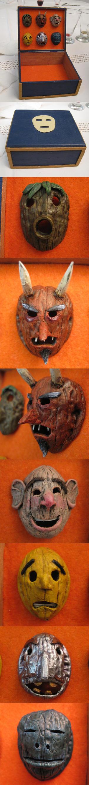 The masks box by Zofeno