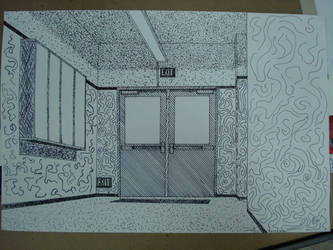 my perspective drawing by rram2091