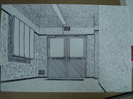 my perspective drawing