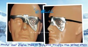 faux steel anti-glare goggles 2 by crudelia