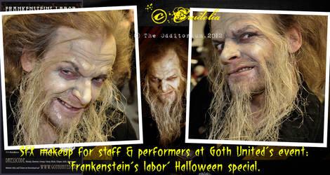 Frankenstein's labor-04 by crudelia