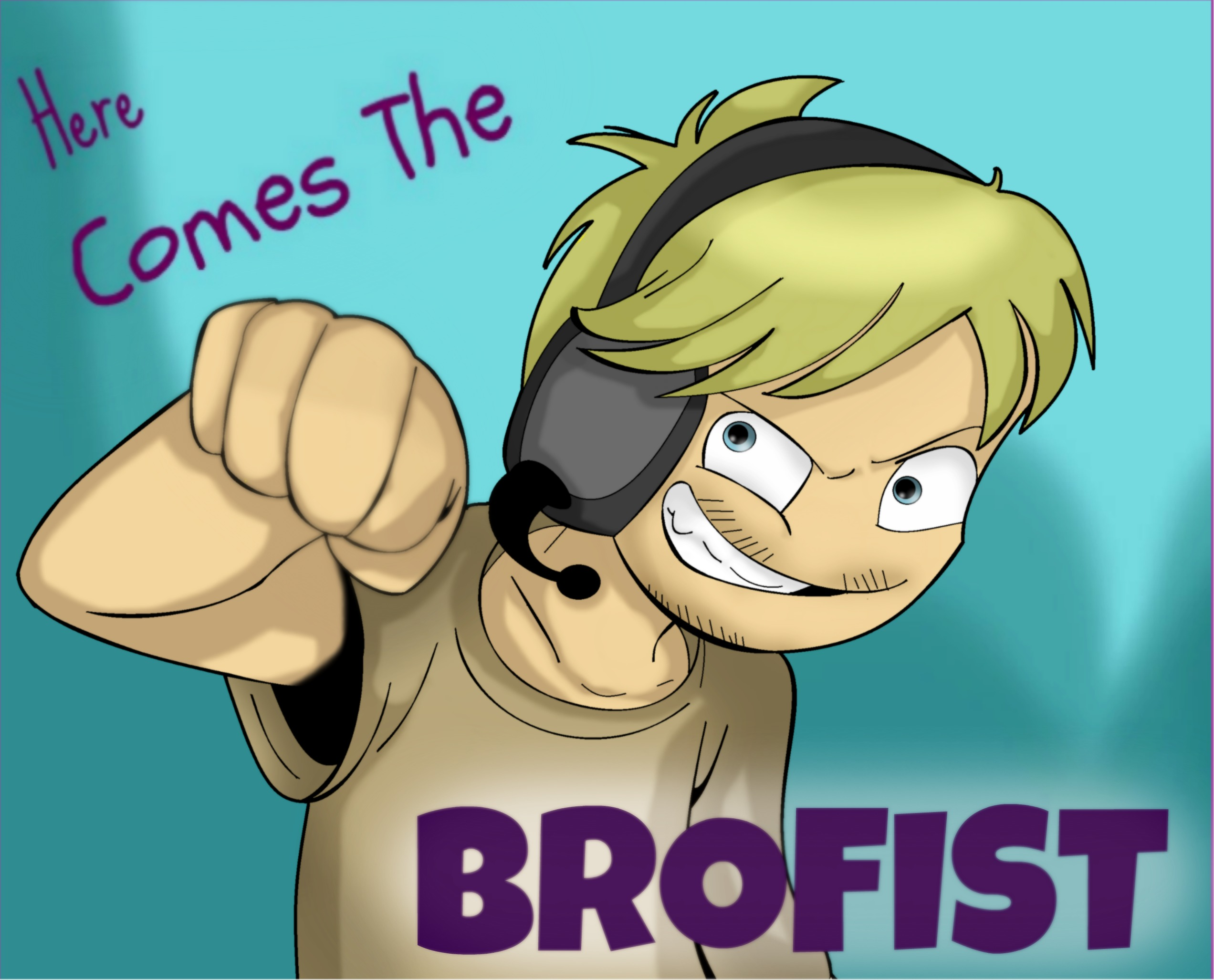 Here come the brofist !
