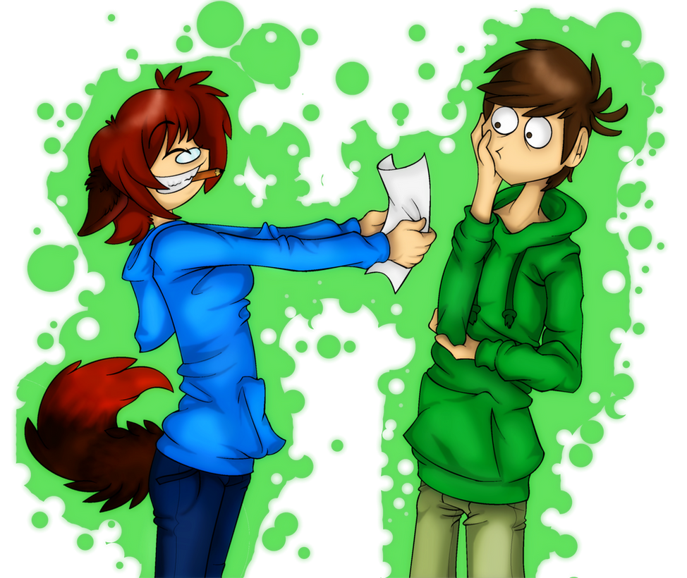 Look, Look Edd! Look What I've Drawn! by PolisBil