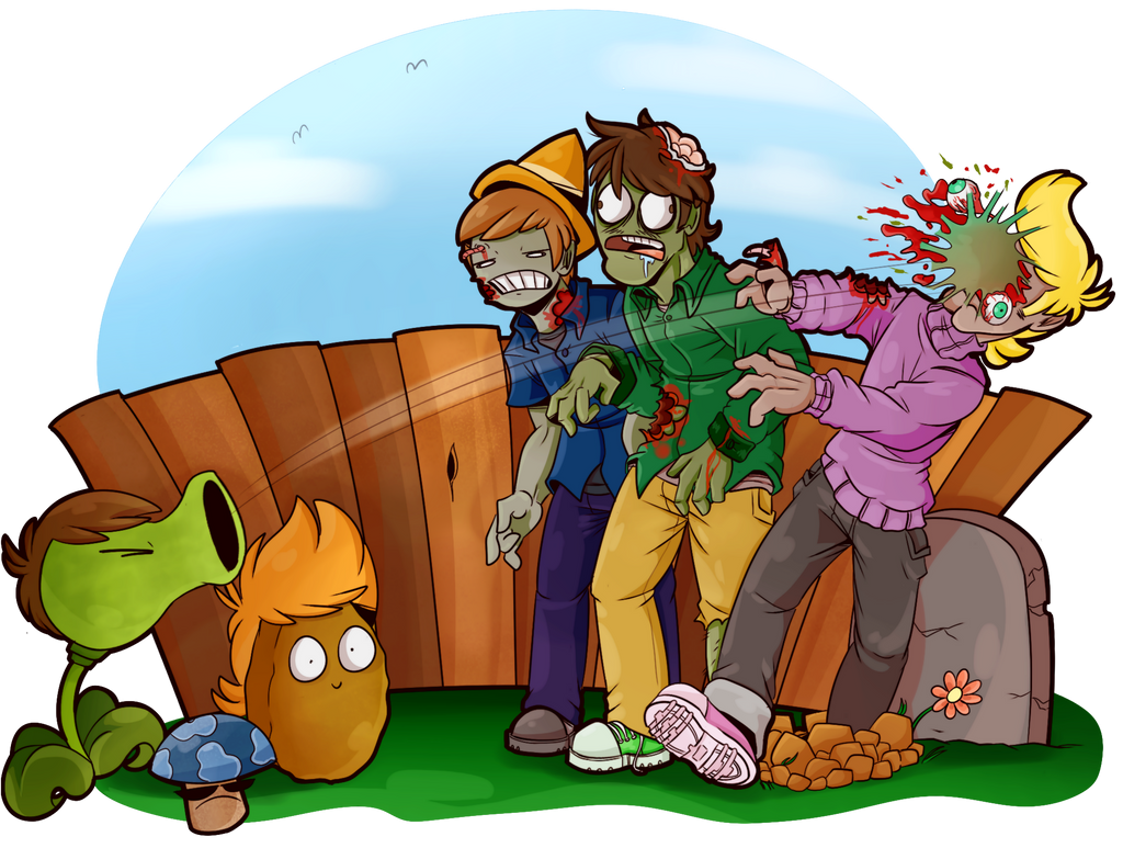 Plants VS. Zombies by PolisBil