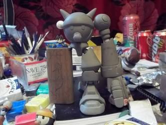 full size bon toy in progress by thee-owl