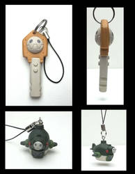 legends phone charms by thee-owl