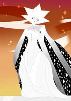 Steven Universe - White Diamond by Leopereador