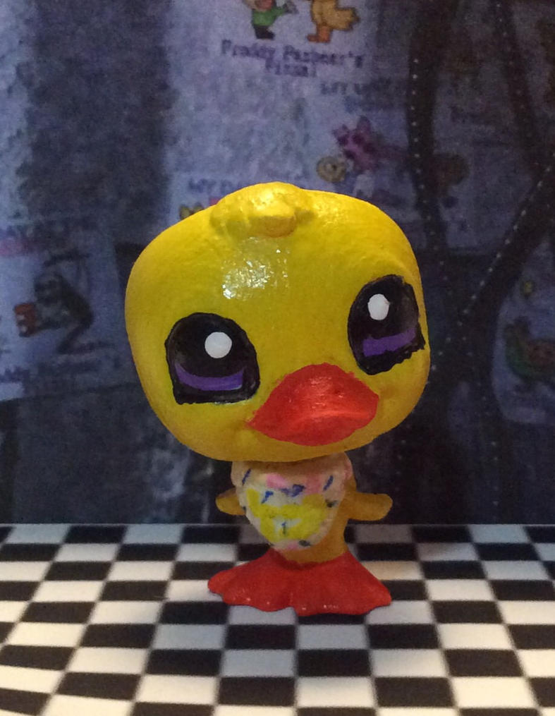 Fnaf lps chica costume by pokemonlover777 on deviantart