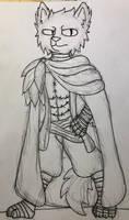 DnD OC- Marvin (Tabaxi Rogue-Arcane Trickster)