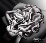 Sleeping Beauty glam