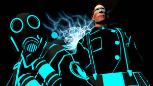 Tron Medic and Pyro
