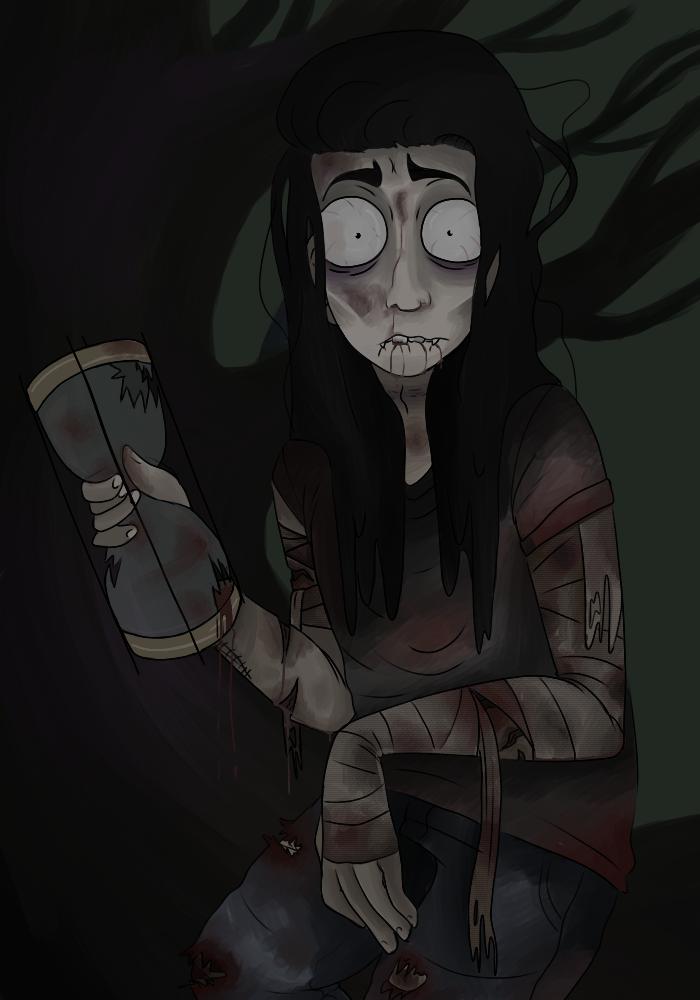 Ghost by StarpeltandGreeneyes