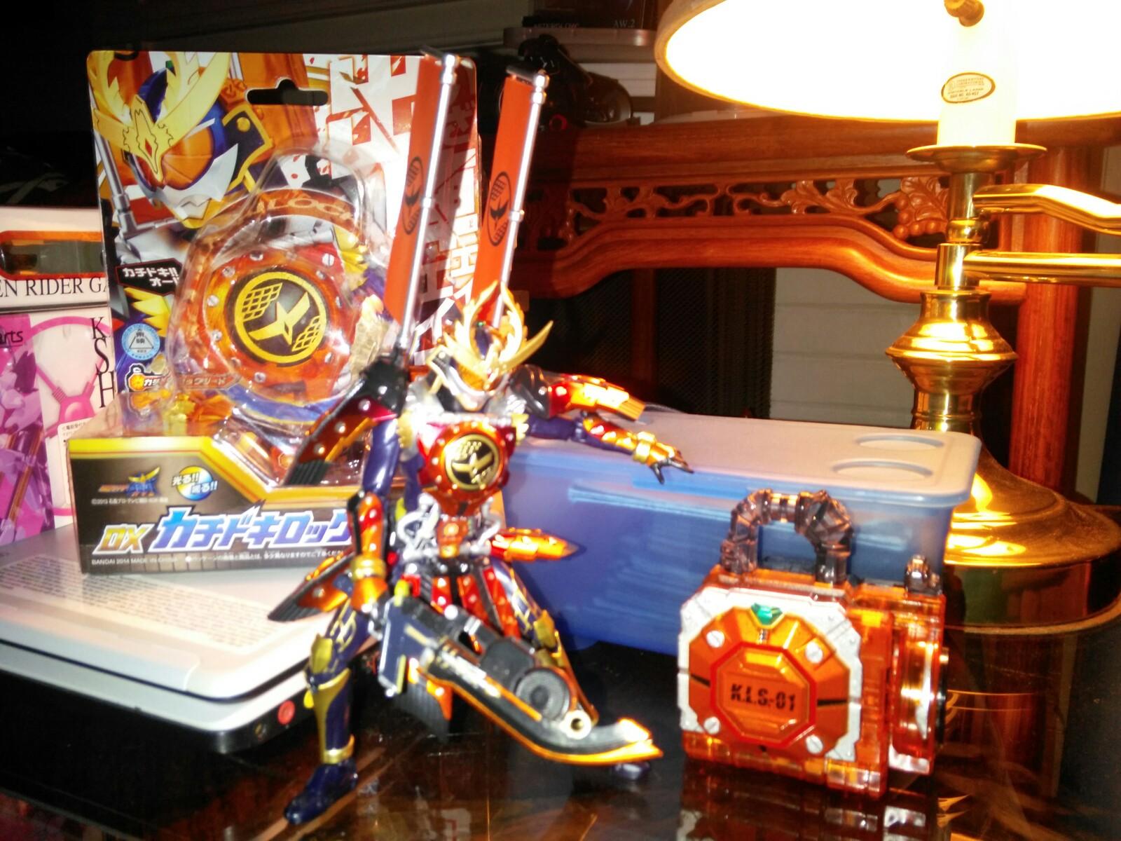 SH Figuarts Kamen Rider Gaim Kachidoki Arms by TRUErealSEGASonicfan