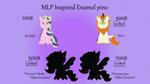 MLPpins by GSCuddleCraft