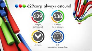 629Corp Telefe-styled logos